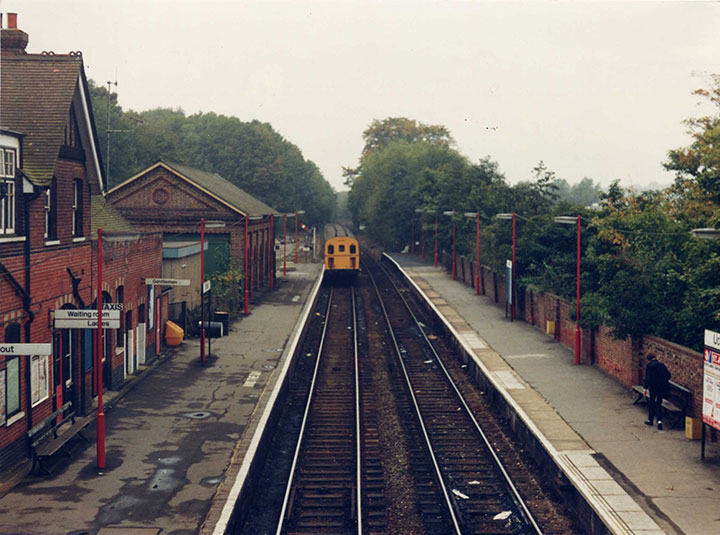 Uckfield after repainting by NSE
