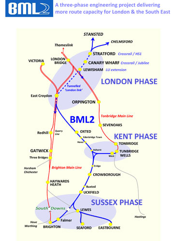 BML2 2017 Route Map